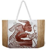 Greeting 5 - Tile Weekender Tote Bag