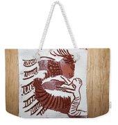 Greeting 7 - Tile Weekender Tote Bag