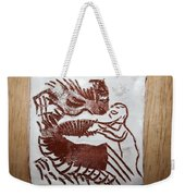 Greeting 9 - Tile Weekender Tote Bag