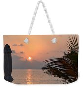 Greeting A New Day Weekender Tote Bag