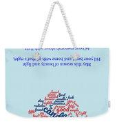 Greeting Card 06 Weekender Tote Bag