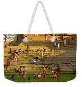 Greeting The Sun Weekender Tote Bag