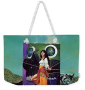 Greetings From The Otherworld Don Maitz Weekender Tote Bag
