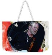 Gregg Allman Art Weekender Tote Bag