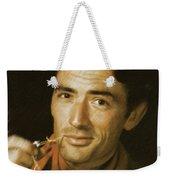 Gregory Peck, Vintage Actor Weekender Tote Bag