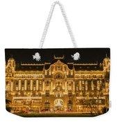 Gresham Palace Holiday Lights Painterly Weekender Tote Bag