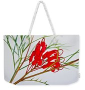 Grevilliea At Pilgrim Place In Claremont-california   Weekender Tote Bag