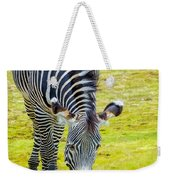 Grevys Zebra Left Weekender Tote Bag