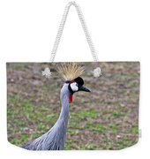 Grey Crowned Crain Of Africa 3 Weekender Tote Bag
