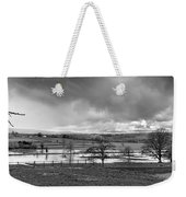Grey Day Weekender Tote Bag