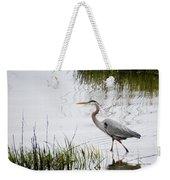Grey Heron #3 Weekender Tote Bag