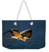 Grey Heron In Flight Weekender Tote Bag by Johan Swanepoel
