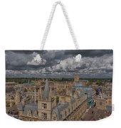 Grey Mood Weekender Tote Bag