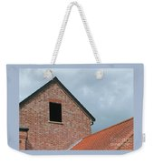 Grey Skyline Weekender Tote Bag