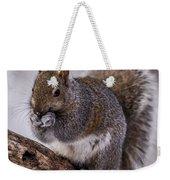 Grey Squirrel Weekender Tote Bag