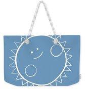 Grey Sun Weekender Tote Bag