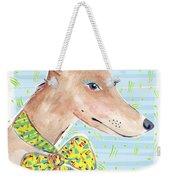 Greyhound Weekender Tote Bag