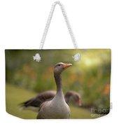 Greylag Goose Weekender Tote Bag