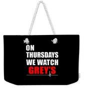 Grey's Anatomy Weekender Tote Bag
