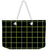 Grid Boxes In Black 09-p0171 Weekender Tote Bag