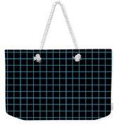 Grid Boxes In Black 18-p0171 Weekender Tote Bag