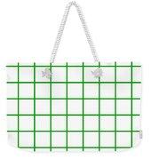 Grid Boxes In White 09-p0171 Weekender Tote Bag