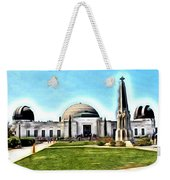 Griffith Observatory, Los Angeles, California Weekender Tote Bag