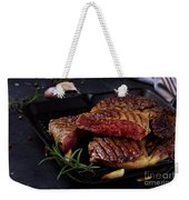 Grilled Beef Steak Weekender Tote Bag