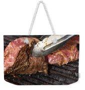 Grilling Steak Weekender Tote Bag