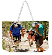 Grinding It Out On The Manitou Incline And Barr Trail Weekender Tote Bag