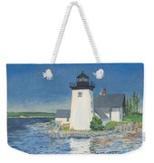 Grindle Point Light Weekender Tote Bag by Dominic White
