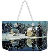 Grings Mill Snow 001 Weekender Tote Bag