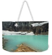 Grinnell And Salamander Glaciers Weekender Tote Bag by Jemmy Archer