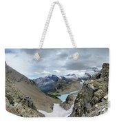 Grinnell Glacier Overlook - Glacier National Park Weekender Tote Bag