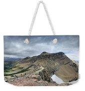 Grinnell Glacier Overlook Panorama - Glacier National Park Weekender Tote Bag