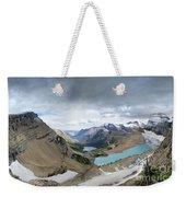 Grinnell Glacier Overlook Vista - Glacier National Park Weekender Tote Bag