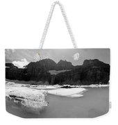 Grinnell Glacier Panorama Weekender Tote Bag