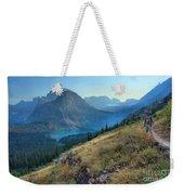 Grinnell Glacier Trail Hiker Weekender Tote Bag