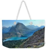 Grinnell Lake - Many Glacier Weekender Tote Bag