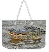 Grinning Gator Weekender Tote Bag
