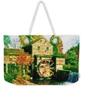 Grist Mill Tranquility Weekender Tote Bag