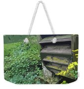 Grist Mill Water Wheel Cape Cod Weekender Tote Bag