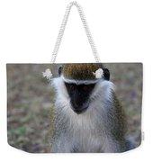 Grivet Monkey Weekender Tote Bag