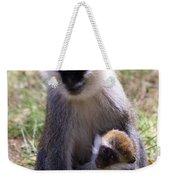 Grivet Monkey At Lake Awassa Weekender Tote Bag