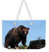 Grizzly-7747 Weekender Tote Bag