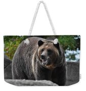 Grizzly Bear 3 Weekender Tote Bag