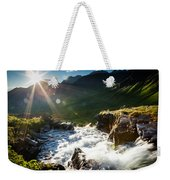 Grizzly Bear Falls Weekender Tote Bag
