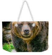 Grizzly Bear Nature Girl    Weekender Tote Bag