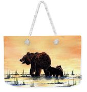 Grizzly Bears Weekender Tote Bag