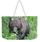 Grizzly Claws Weekender Tote Bag